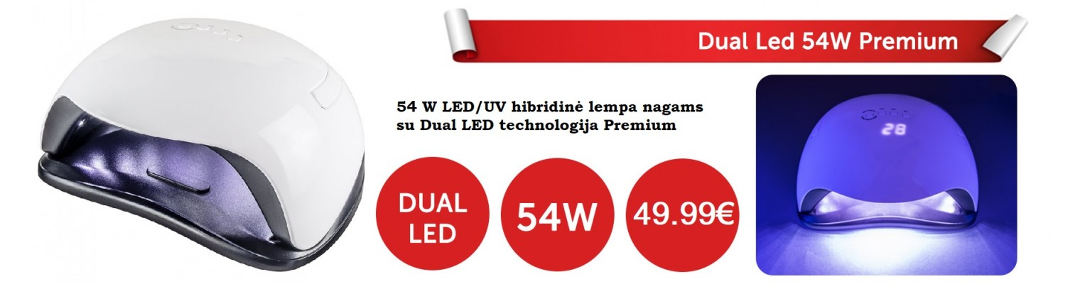 LED UV lempa 54 w