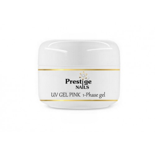 "1-Phase Gel ""Prestige"" Rožinis 50ml"
