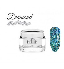 'Diamond' efekto gelis Nr.2