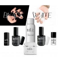 Black White Gelinio lako rinkinys BW3
