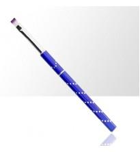 Sudedamas, dekoruotas linijom, tamsiai mėlynos spalvos teptukas geliui Dydis Nr.6